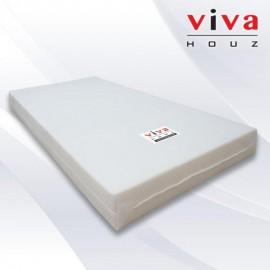 Viva Houz, Back Care Single Latex Mattress, 11cm/4