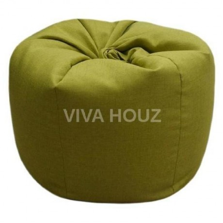 VIVA HOUZ - GIANT Bean Bag / Chair / Sofa, XXL Size (APPLE GREEN)