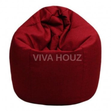 VIVA HOUZ - GIANT Bean Bag / Chair / Sofa, XXL Size (FANCY RED)