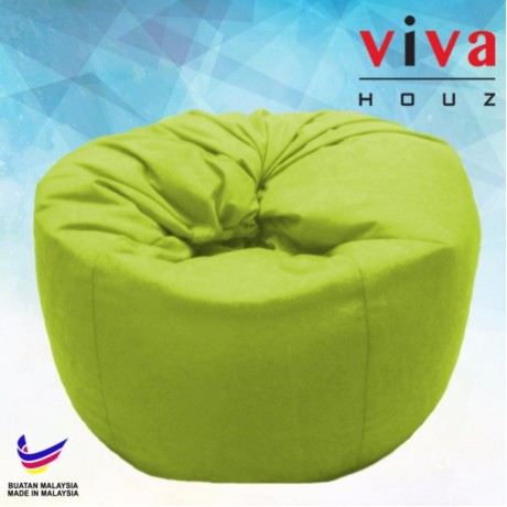 Viva Houz Happy Bean Bag/ Sofa /Chair, XL Size (Green)