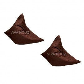 VIVA HOUZ - MEGA Bean Bag (XL Size) BROWN (Set of Two)