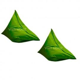 VIVA HOUZ - MEGA Bean Bag (XL Size) GREEN (Set of Two)