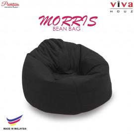 Viva Houz Morris Bean Bag/ Sofa /Chair, XL Size, 2.0 Kg (Black)