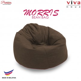 Viva Houz Morris Bean Bag/ Sofa /Chair, L Size, 2.0 Kg (Brown)