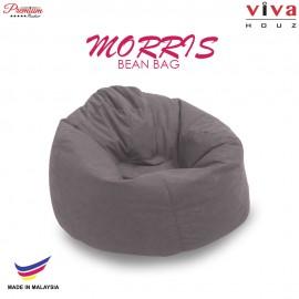 Viva Houz Morris Bean Bag/ Sofa /Chair, XL Size, 2.0 Kg (Grey)