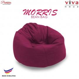 Viva Houz Morris Bean Bag/ Sofa /Chair, XL Size, 2.0 Kg (Maroon)