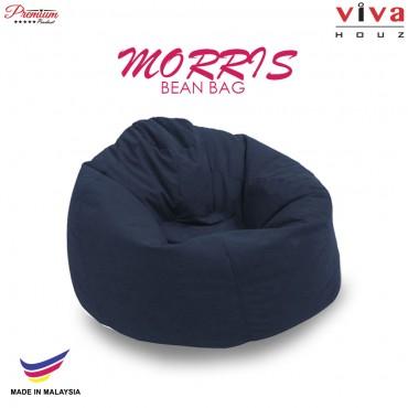 Viva Houz Morris Bean Bag/ Sofa /Chair, XL Size, 2.0 Kg (Dark Blue)