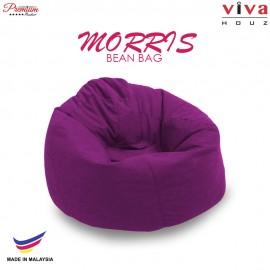 Viva Houz Morris Bean Bag/ Sofa /Chair, XL Size, 2.0 Kg (Purple)