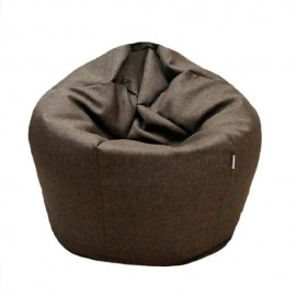 Viva Houz Superb Bean Bag/Sofa/Chair, 2kg, Water Resistant Cotton, Polyester Fabric, Superb Comfort (Brown)