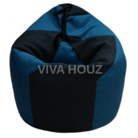 VIVA HOUZ - WHALE Bean Bag / Sofa / Chair, XXL SIZE (FLASH BLUE)