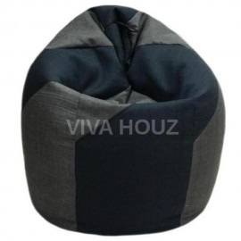 VIVA HOUZ - WHALE Bean Bag / Sofa / Chair, XXL SIZE (CLASSIC GREY)