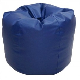 VIVA HOUZ - CHERRY PVC Bean Bag / Chair / Sofa, XL Size (Navy Blue)