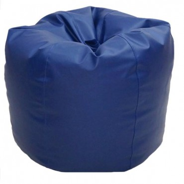 VIVA HOUZ - CHERRY PVC Bean Bag / Chair / Sofa, XL Size (Navy Blue)