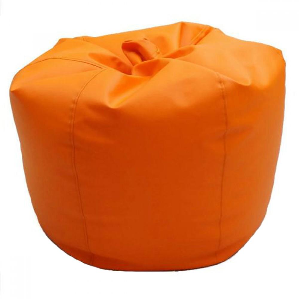 VIVA HOUZ - CHERRY PVC Bean Bag / Chair / Sofa, XL Size (Orange)