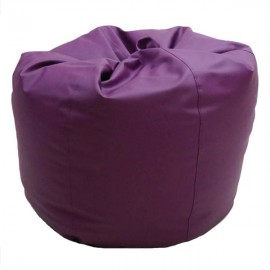 VIVA HOUZ - CHERRY PVC Bean Bag / Chair / Sofa, XL Size (Purple)