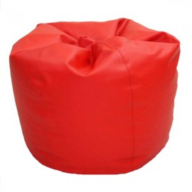 VIVA HOUZ - CHERRY PVC Bean Bag / Chair / Sofa, XL Size (Red)