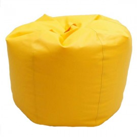 VIVA HOUZ - CHERRY PVC Bean Bag / Chair / Sofa, XL Size (Yellow)