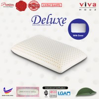 Viva Houz Deluxe (OEM) 100% Guaranteed Pure Latex Pillow, Made in Malaysia
