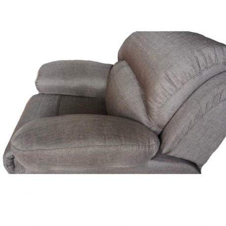 BILMORE Single Seat Recliner Chair, Sofa, Full Fabric Cover