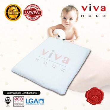 Viva Houz Sweetie Baby/Child Pillow (OEM), 100% Guaranteed Pure Latex, Sirim Certified, Made in Malaysia