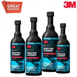 3M Advanced Fuel Injector Cleaner (USA Product) - Set of 4