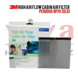 3M High Air Flow Cabin Air Filter for Perodua Myvi Old (2005-2011)