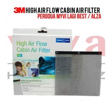 3M High Air Flow Cabin Air Filter for Perodua Myvi (2011- Present) & Alza