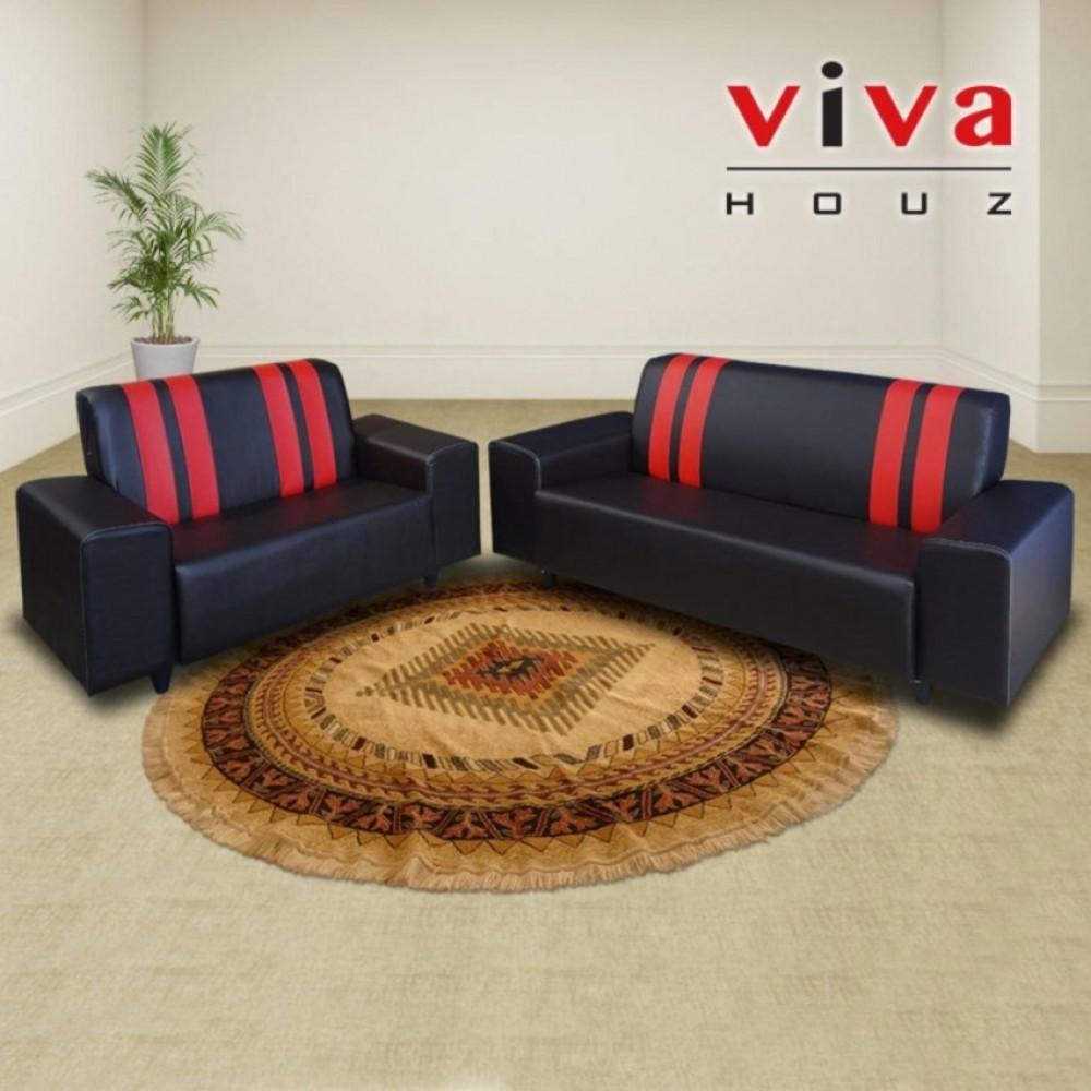 Viva Houz Ancora Sofa, 2 + 3 Seater, Living Room Sofa, Made In Malaysia