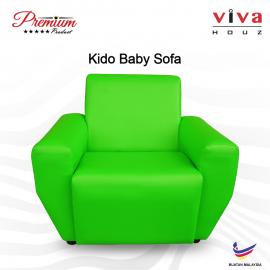 Viva Houz Kido Baby Sofa Kid Sofa Chair (Green) Made In Malaysia
