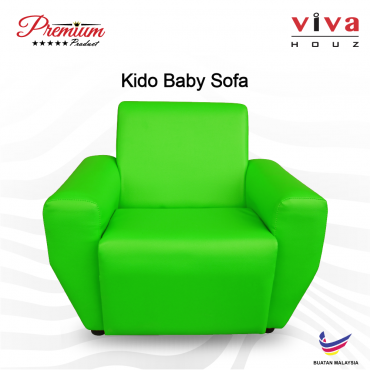 Viva Houz Kido Baby Sofa Kid Sofa Chair (Green) Made In Malaysia