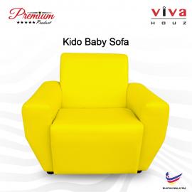 Viva Houz Kido Baby Sofa Kid Sofa Chair (Yellow) Made In Malaysia