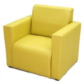 VIVA HOUZ - Kids Sofa With Arm (PVC, Green)