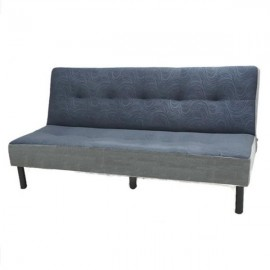 VIVA HOUZ - CANTONA Sofa Bed, Grey (Made in Malaysia, 2 Years Warranty)