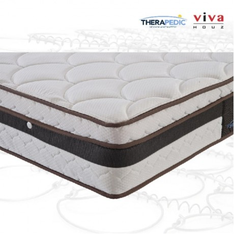 Therapedic, USA, Joy Spring Luxurious Mattress, 28cm / 11'' Thick (Queen)