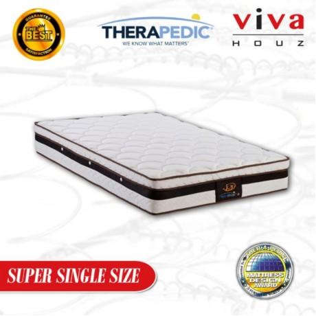 Therapedic, USA, Joy Spring Luxurious Mattress, 28cm / 11'' Thick (Super Single)