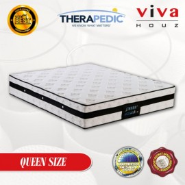 Therapedic, USA, Cheer 3 Zones  Pocketed Spring Luxurious Mattress, 25cm / 10 (Queen)