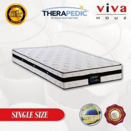 Therapedic, USA, Cheer 3 Zones  Pocketed Spring Luxurious Mattress, 25cm / 10 (Single)
