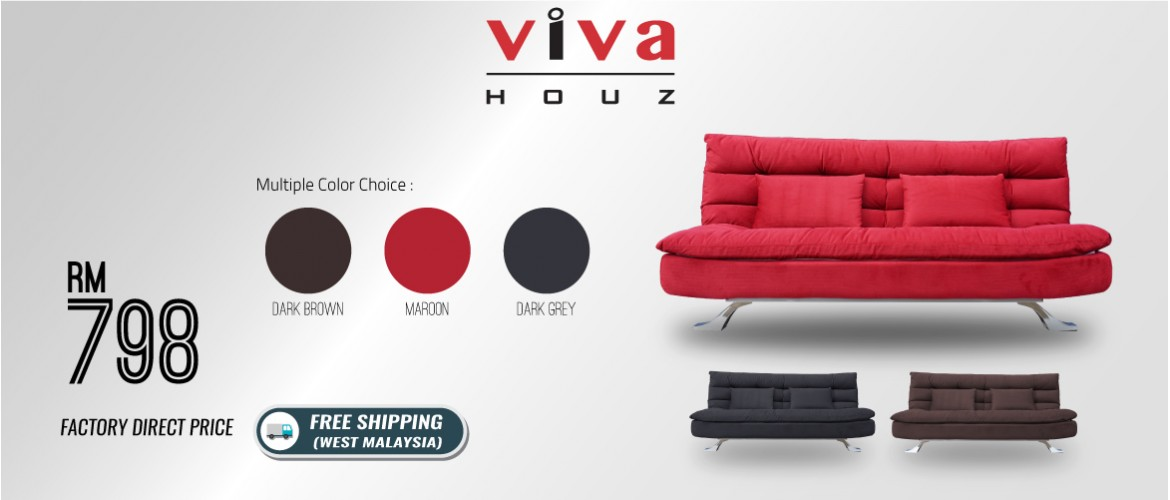 Helena Sofa Bed Promotion