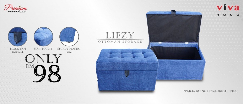 Liezy Storage Ottoman
